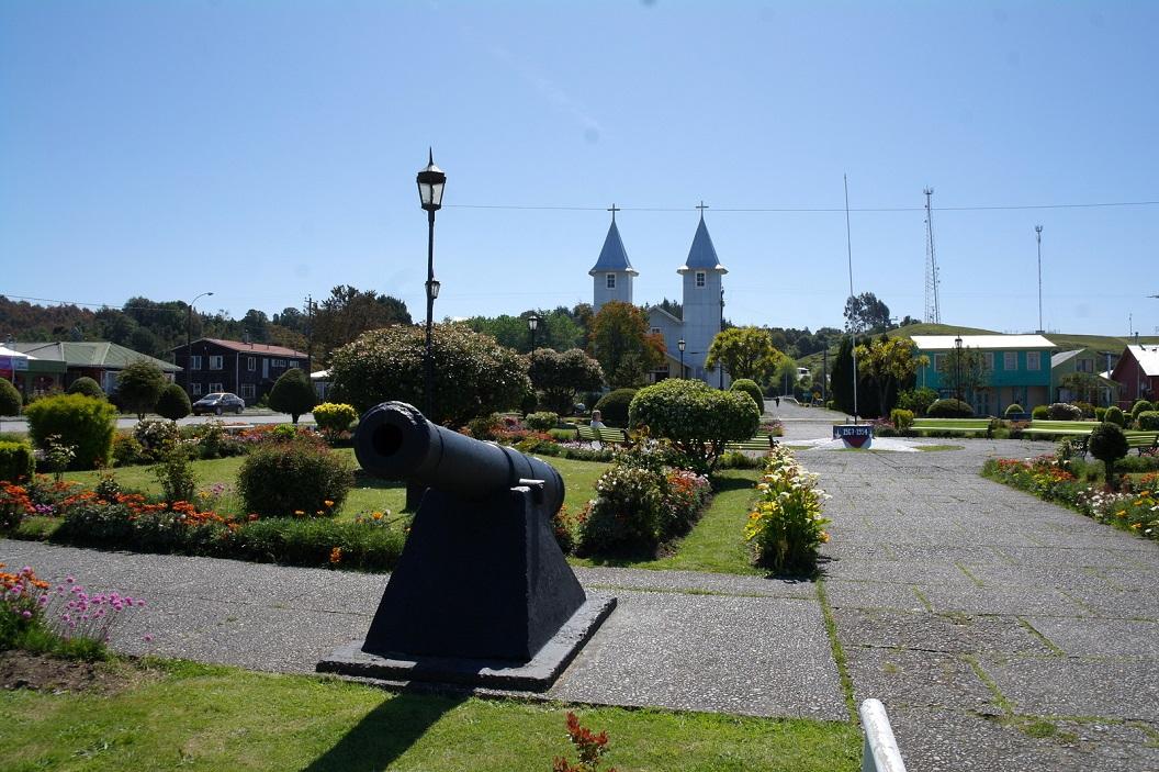 37 Iglesia de Chacao, een laatste bezoek in Chacao voor we weer terug gaan naar het vaste land, Chili