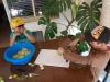 22 samen met de kinderen beginnen we met de voorbereidingen van het maken van Vlierbloesemsiroop