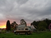 35 zonsondergang op ons kampeerplekje in Las Cascadas