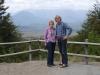 36 uitzicht, op weg naar de voet van Gruta de la Virgin de Lourdes