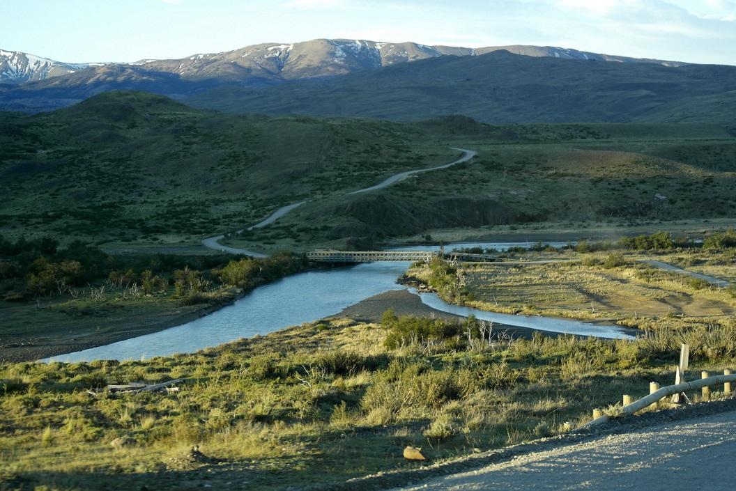 13 brug over Rio Paine op onze route
