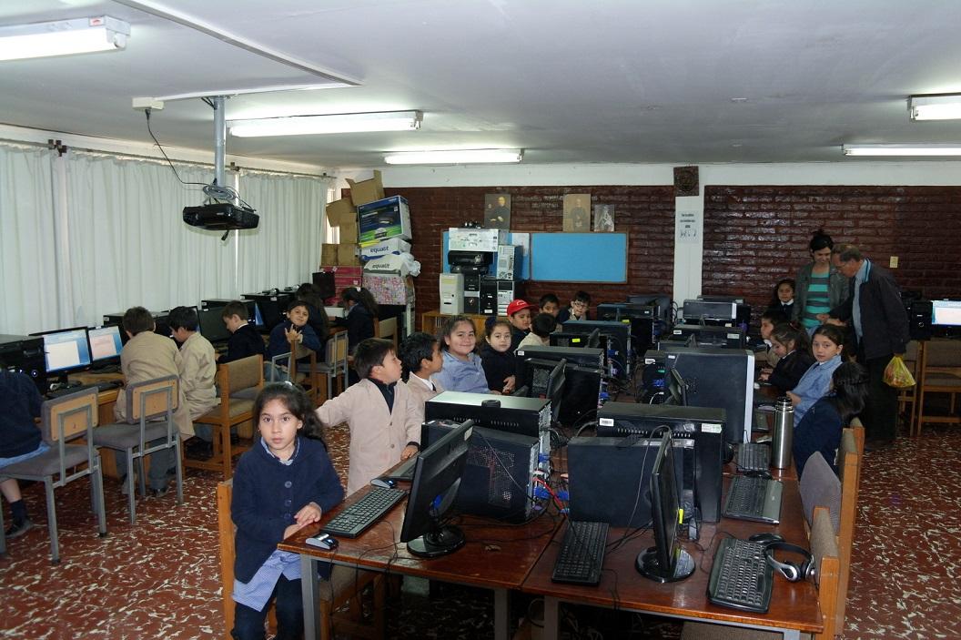 31 een hogere klas heeft computerles