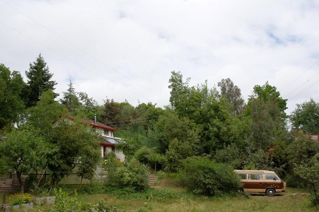 39 bezoek aan Anita Kok en aan het project waar zij al vele jaren nauw aan is verbonden - Albergue La Leona in Viches -, even buiten Talca.  Met Anita in kontakt gekomen via Broeder Gerard van Vught