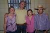 22 na een mooie dag en avond samen, afscheid van Fanny Rojas en haar broer Patrick
