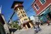 31 de Polanco Toren steeds terug kerend in een prachtig straatbeeld