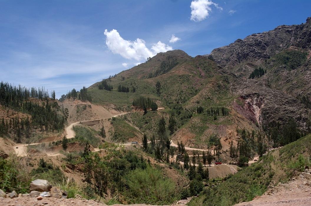 02 Route 6 een prachtige route door de Andes van Bolivia