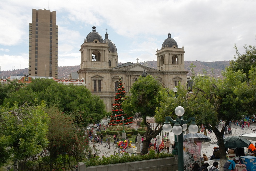 33 Cathedral Basilica of Our Lady of Peace in La Paz
