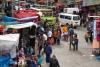 25 markt in de winkelstraten van La Paz