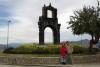 31 Mirador Killi Killi, een geweldige poort bij de ingang de stad La Paz. In 1781 gebouwd en in gebruik genomen. De poort is een periode gebruikt als controlepost van de stad