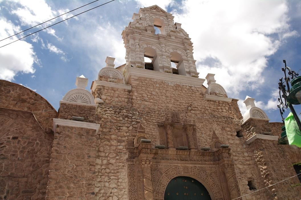 42 gevel Iglesia San Bernardo, Potosi