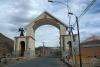 02 Poort, Potosi Patrimonio Cultural Natural de la Humanidad. Potosi Cultureel erfgoed van de Mensheid