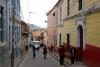 26 wandeling door een van de straten van Potosi