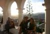 32 La Recoleta een geliefde plek en druk bezocht vooral bij ondergaande zon