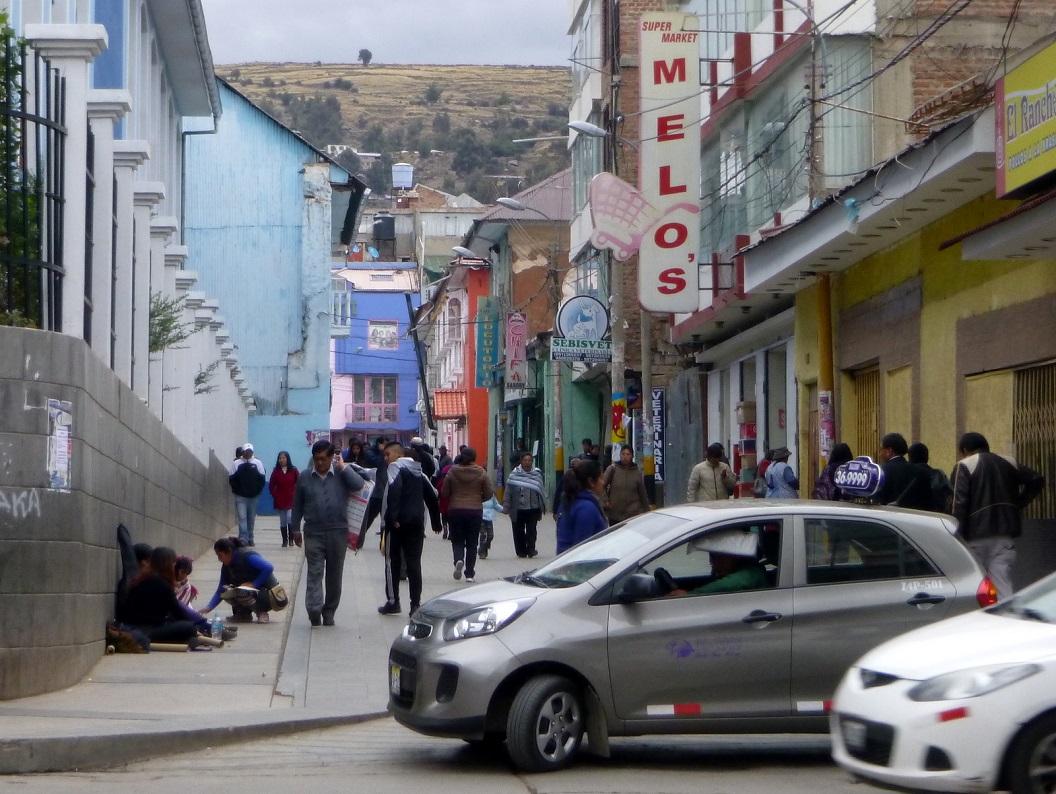 18 op weg naar de historische binnenstad van Cuzco