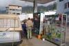 12 al vroeg in de ochtend op het tankstation in Abancay worden we vriendelijk verwelkomt, we zijn een van de eerste klanten