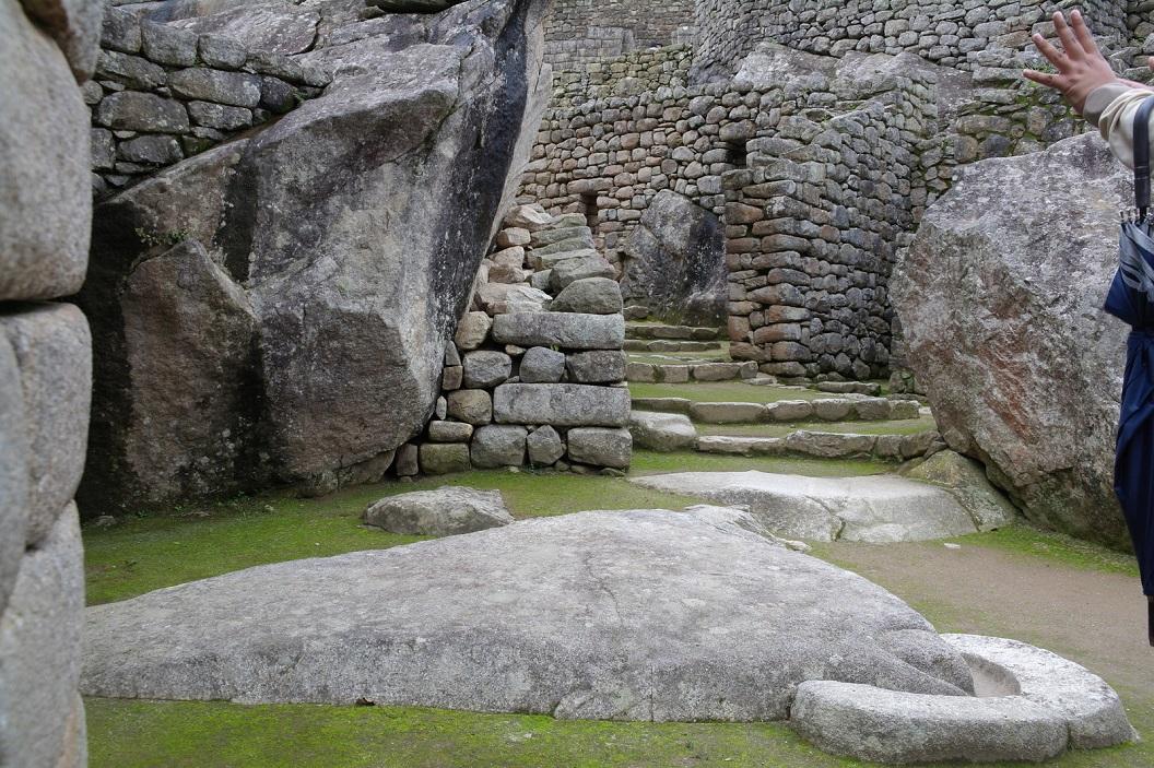 40 Temple of the Condor, Apu Kuntur - Condor God. De Inca's aanbaden de Apu Kuntur om goede toekomst naar het dorp te brengen