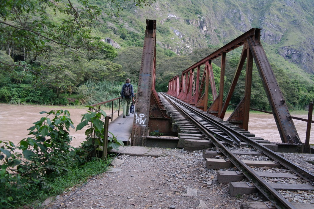 59 brug over de Urubamba rivier