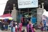 04 we gaan naar de grote centrale markt, Mercado Central de San Pedro, voor het kopen van een mand vol fruit, onze bijdrage is het verzorgen van een grote fruitsalade