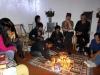 37 sfeervolle en vrolijke avond met veel aandacht, warmte, liefde, vertrouwen en respect voor elkaar en Pachamama - Moederaarde