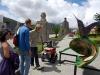 58 bezoek aan Mitad Del Mundo - De helft van de Wereld - Park de Evenaar