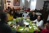 62 gezellige avond samen bij moeder Andrade, samen met broers en familie van Jimena
