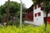 11 een van de historische gebouwen van Pueblito Paisa. Pueblito Paisa is gebouwd en geschonken aan de gemeenschap door een belangrijk industrieel aan begin van de twintigte eeuw