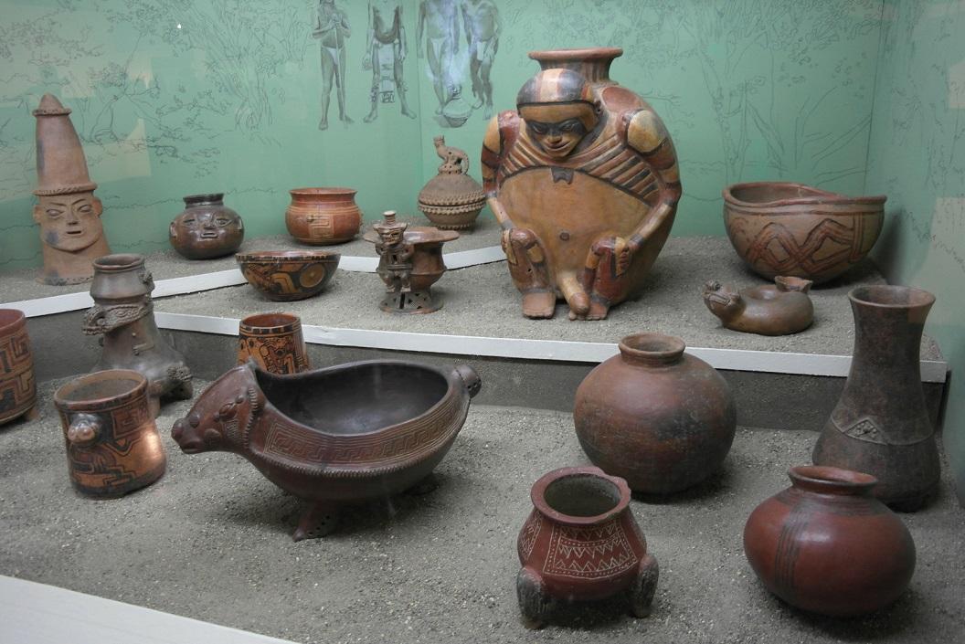 13 pottery, de eerste vindplaats van ceramics in Costa Rica dateert van ca 5000 aar geleden SAM_4746
