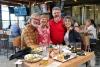 28 afscheid in McFate Brewing (Scottsdale) van Chuck en JJ, vrienden van Yvonne, volgend jaar zien we elkaar als zij in Duitsland en Nederland gaan rondreizen SAM_5780