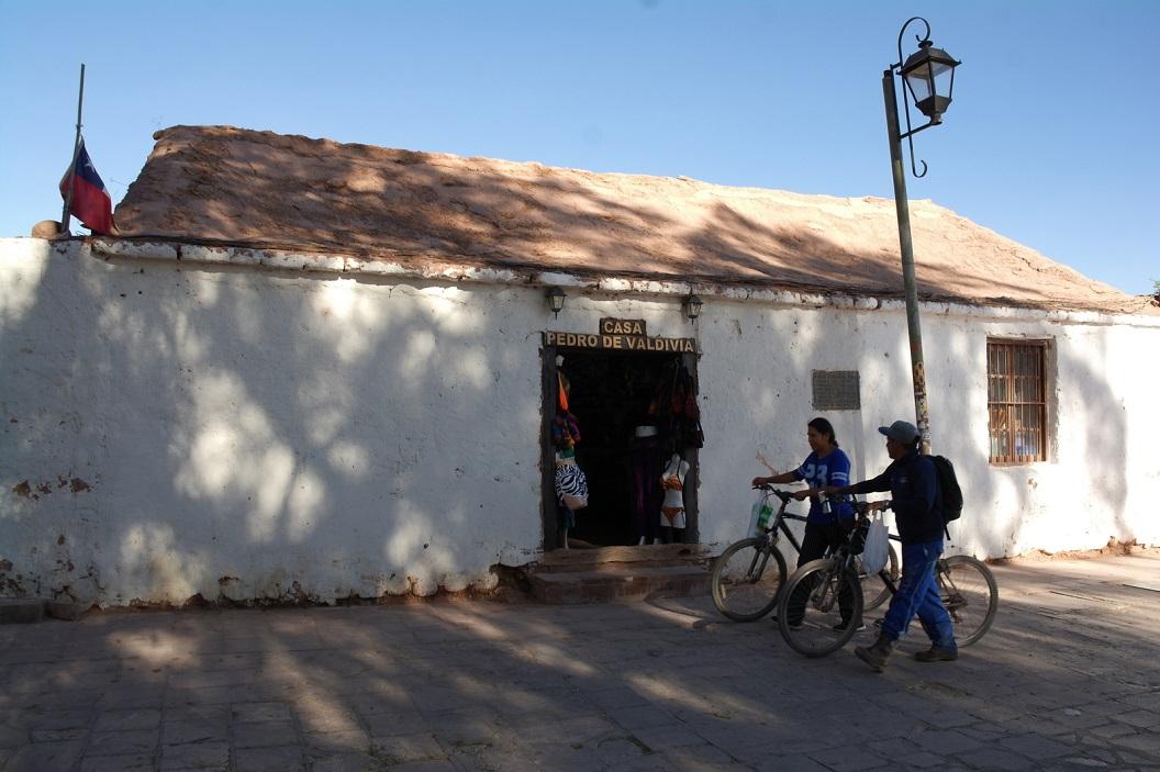 07 Casa Pedro de Valdivia, een van  de oudste huizen aan de plaza  ( 1540)