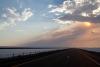 01 vanuit Salt lake City - DWight D Eisenhower HWY 80 - Great Salt Lake Desert - Utah - richting Nevada SAM_7349