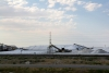 04 zoutwinning aan DWight D Eisenhower HWY 80 - Great Salt Lake Desert - Utah - richting Nevada SAM_7334