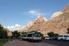 31 in het park rijdt een gratis Shuttle bus die je naar de verschillende Trails brengt SAM_6788