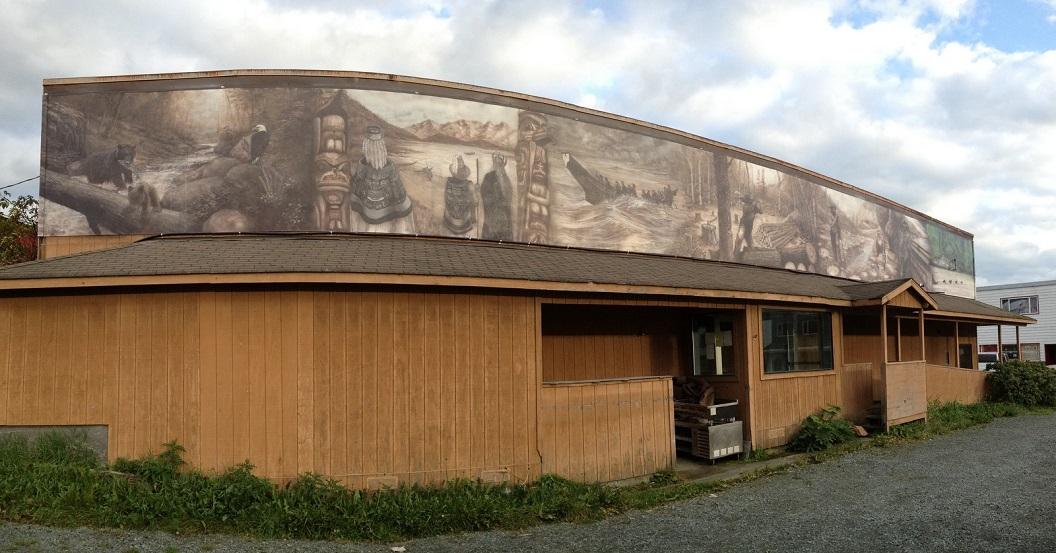 18 muurschildering, geschiedenis van Haines en omgeving IMG_5531