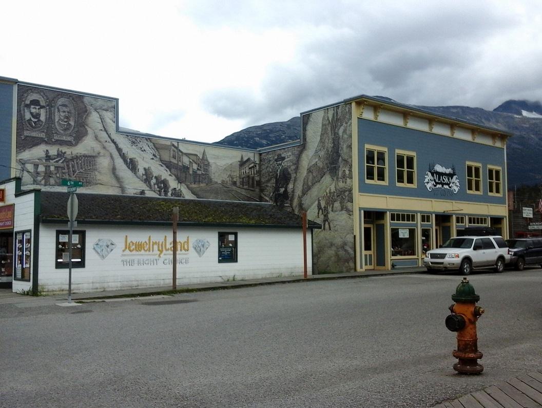 42 geschiedenis Klondike Gold Rush aan de muur 20160921_110754