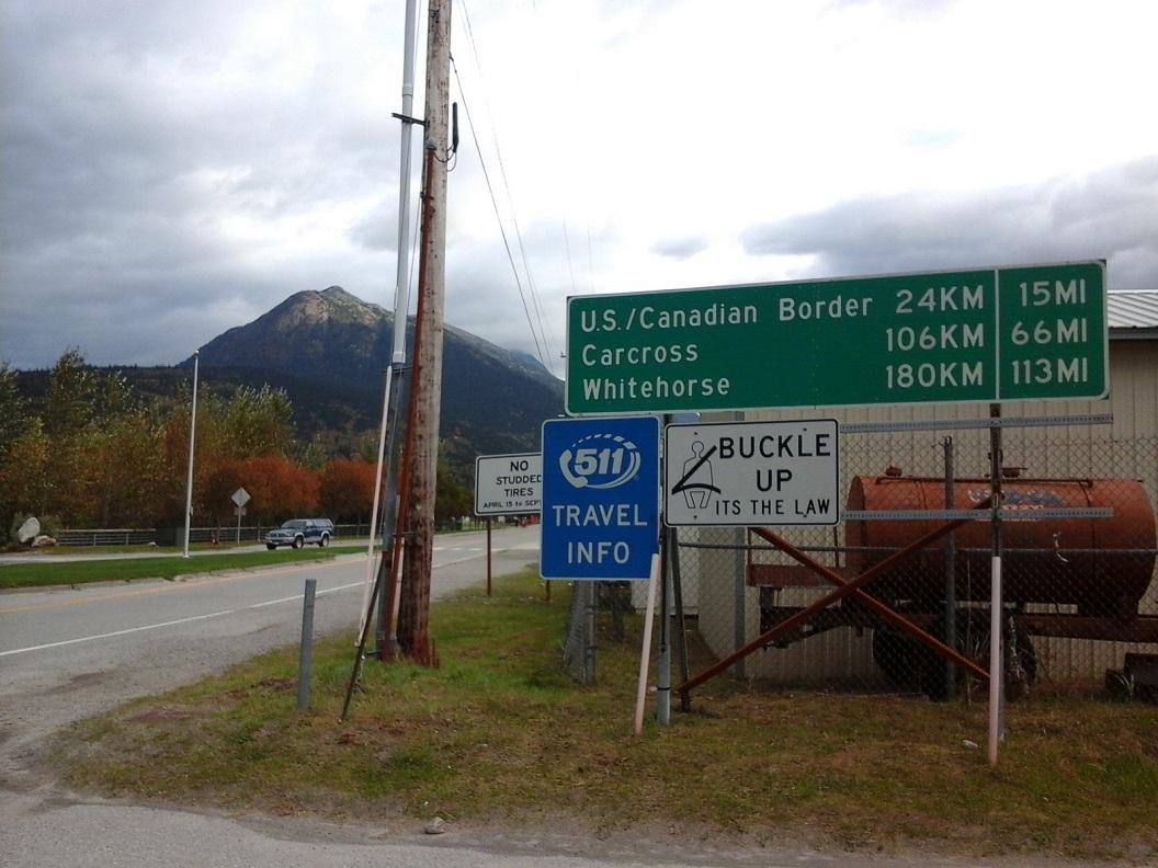 43 nog 24 km naar de Canadeese grens 20160921_094626