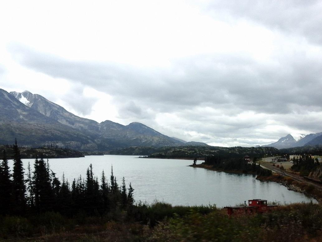 44 laatste blik Alaska - zijn net de grens gepasseerd bij Fraser Customs 20160921_115632
