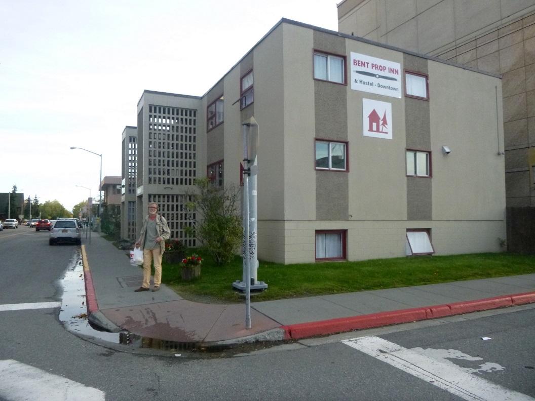 04 Bent Prop Inn , het hostel waar we een paar dagen logeren - Anchorage P1030262