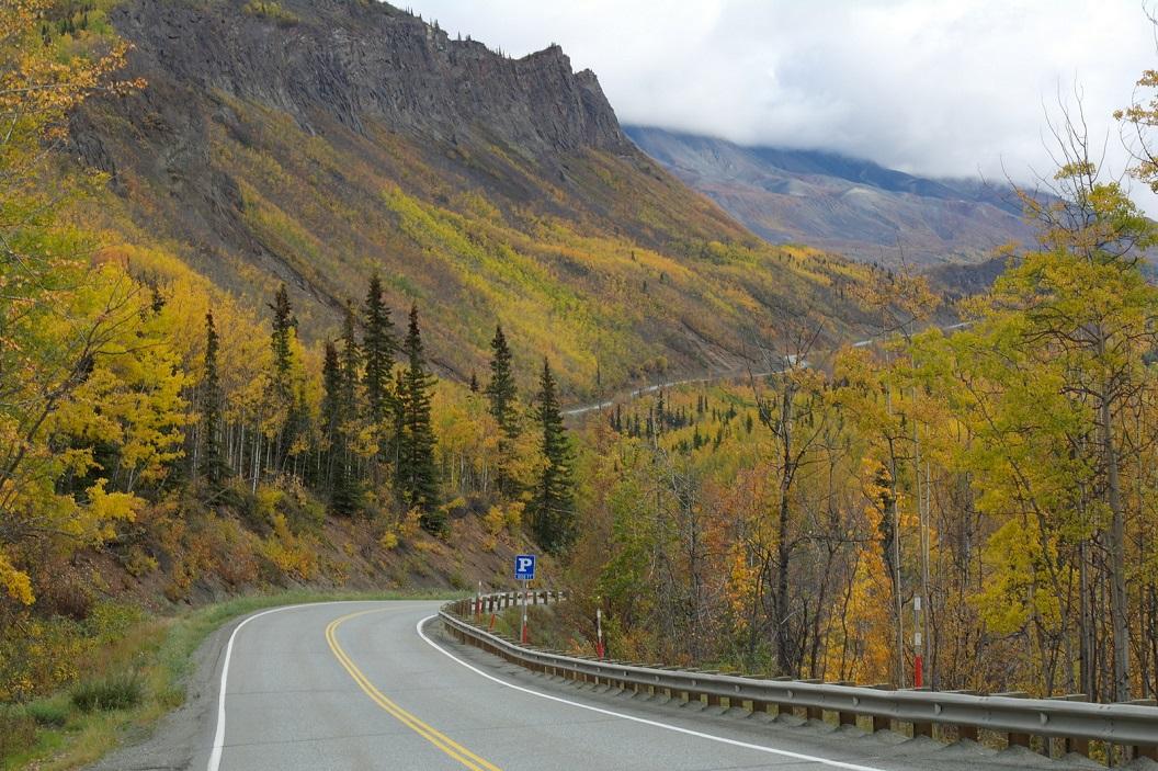 12 Glenn Hwy op weg vanuit Palmer naar Valdez - Alaska SAM_1320