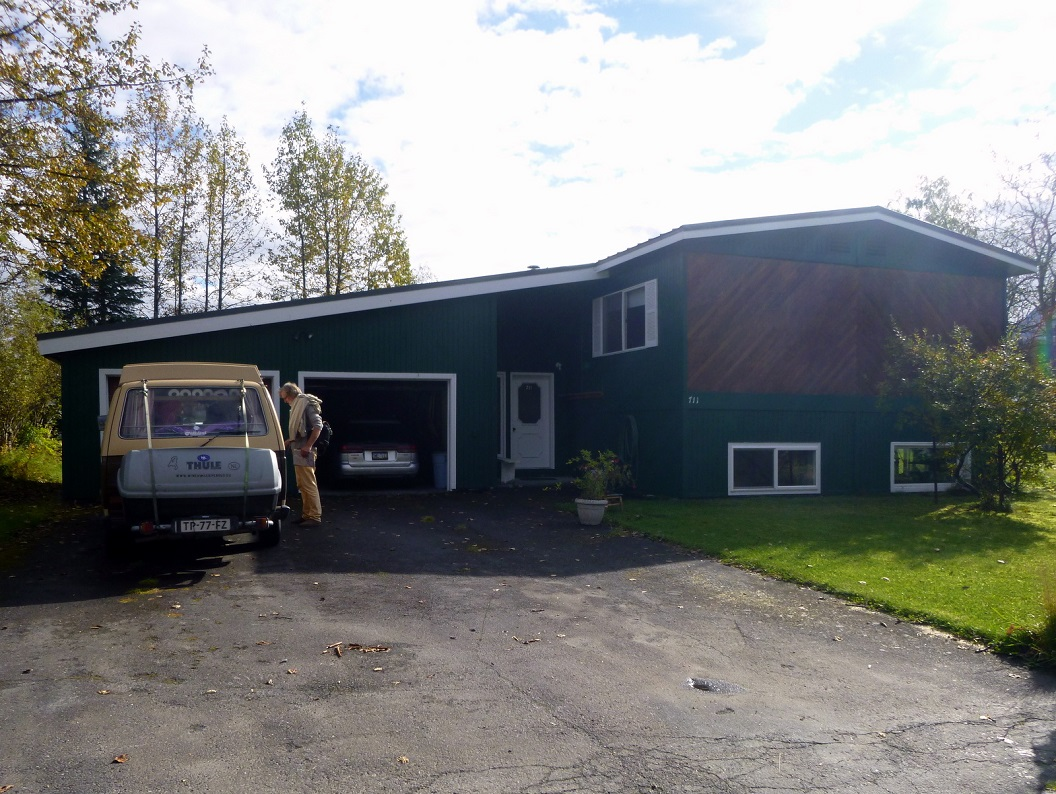 41 gekampeerd bij de woning van Susan en Kathy in Valdez - Alaska P1030546