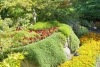03 Jennie Butchart nam het initiatief voor de aanleg van de Butchart Gardens SAM_8860