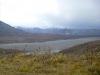 13 de 6194 meter hoge Mount McKinley, de hoogste berg van Noord-Amerika, echter niet zichtbaar - in de zomer slechts 30% van de tijd zichtbaar en m.n. in de vroege ochtend P1030237