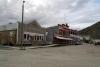 01 het stadje Dawson City - door de Goudkoorts zwol in de loop van 1887 het kleine tentenkamp aan tot 5000 inwoners, een jaar later tot 40.000 één van de grootste steden van Canada SAM_0885