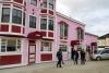 14 het inmiddels zeer toeristische stadje Dawson City met veel kleurige huizen en gebouwenSAM_0902