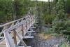 13 mooie omgeving en een met zorg aangelegd pad naar de Rancheria Falls - Yukon Park - CA SAM_0718
