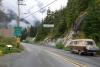 19 grensovergang Stewart (British Columbia) Welcome to Hyder - Alaska SAM_0496
