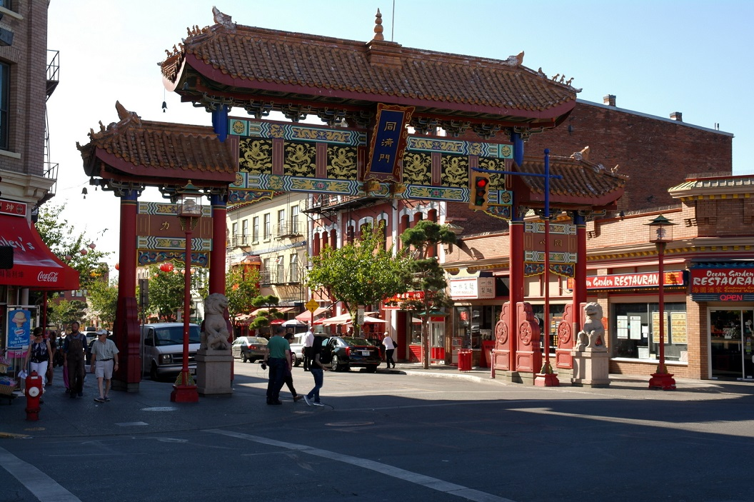 04 Welcome to Canada´s oldest Chinatown - Victoria BC SAM_9004