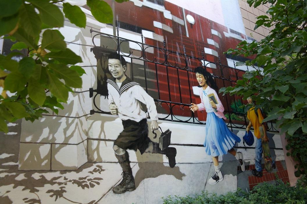 08 vrolijke muurschildering SAM_9019