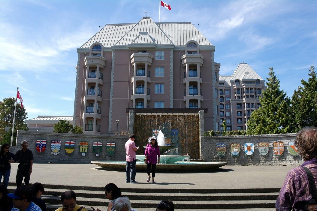 21 Monument Oprichting van de provincie British Columbia- de provincie British Columbia werd opgericht op 20 juli 1871 SAM_9129