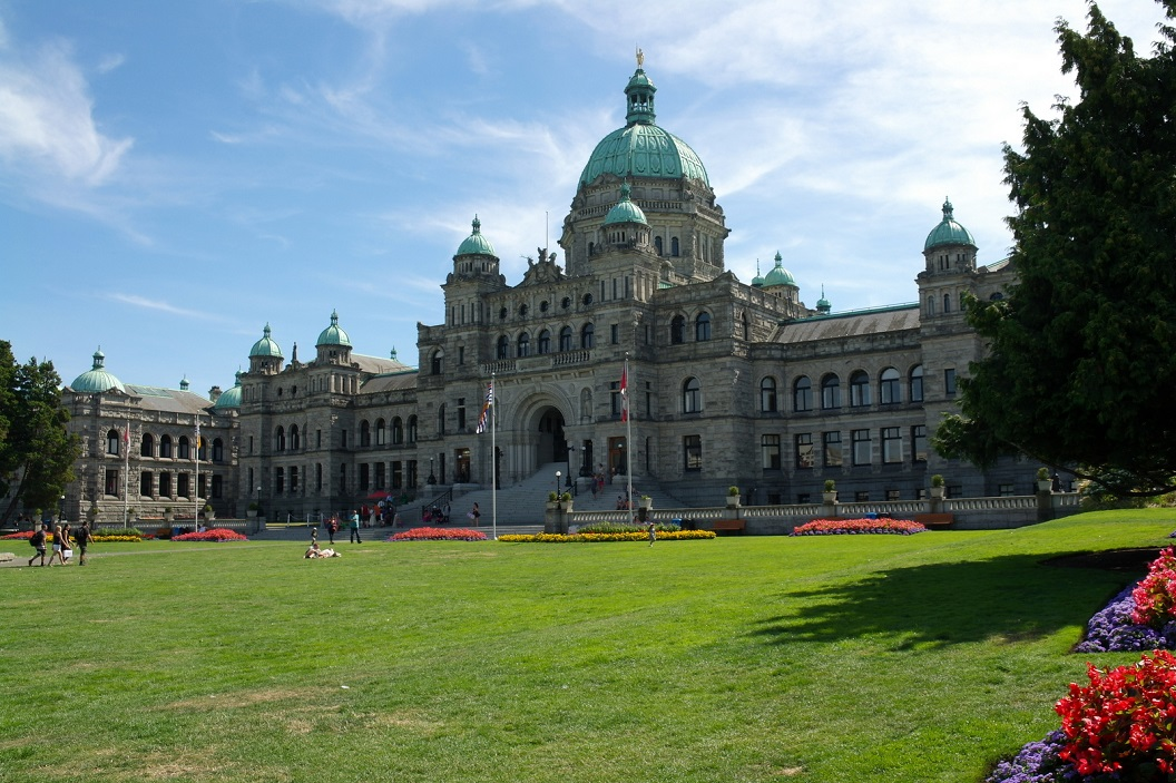 23 British Columbia Parlement Buildings - gebouwen van het British Columbia Parlement SAM_9142