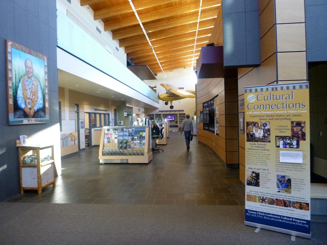 16 Fairbanks, Morris Thomson Cultural & Visitors Center P1030053